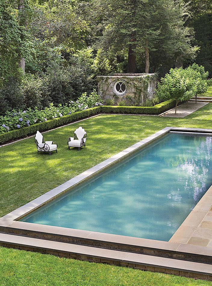 Architectural Digest Pool Designs: Traditional Pool By Suzanne Kasler Interiors By